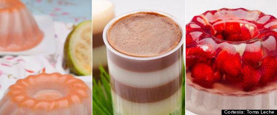 Gelatina Con Crema Receta Recetas Con Gelatina y Leche