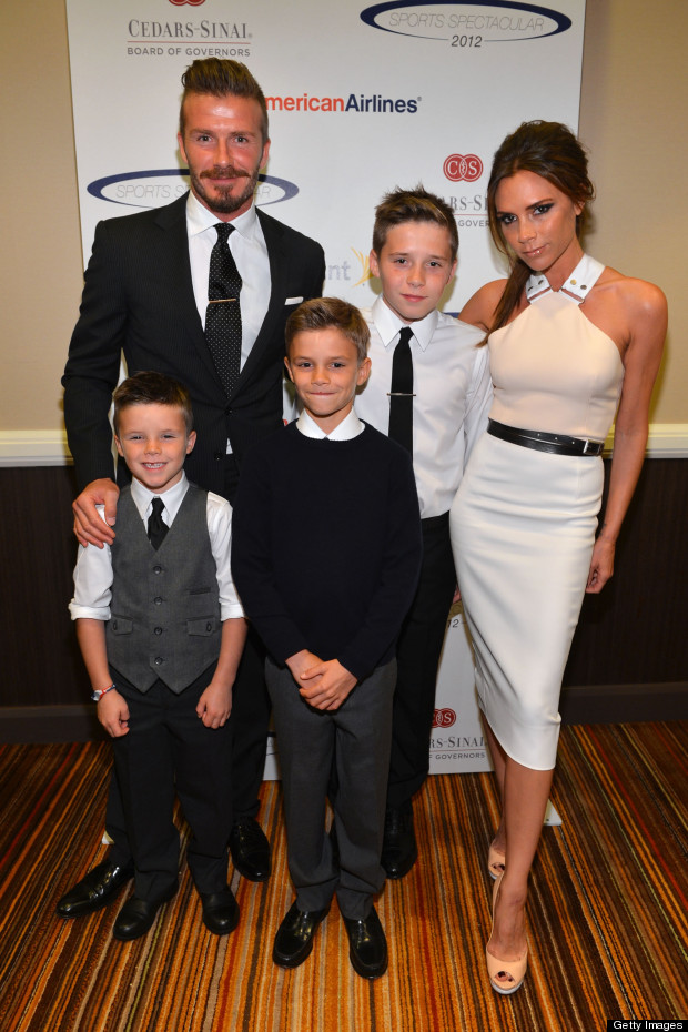 beckham family photo