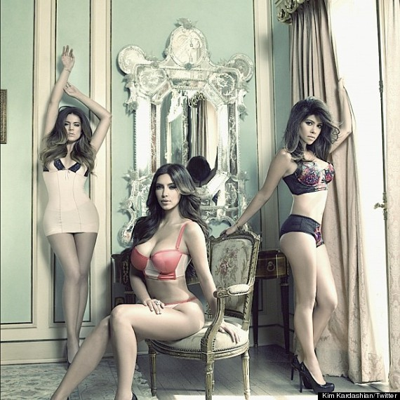 kardashian sisters underwear