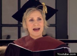 Jane Lynch Commencement