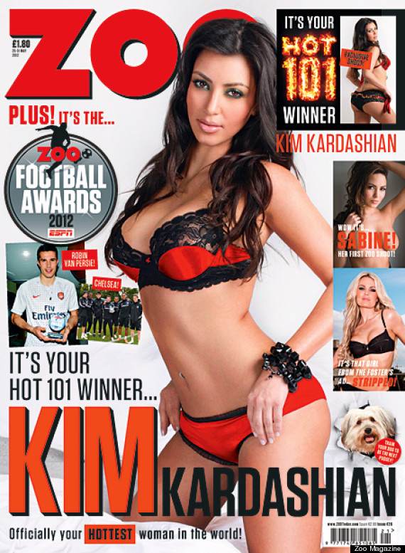 kim kardashian hottest woman world zoo mag