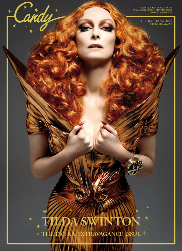 tilda swinton candy magazine
