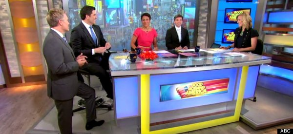 Good Morning America Intruder Interview : Ben sherwood hollywood reporter interview abc news chief