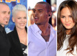 Chris Brown Lip Synchs: Pink, Carey Hart, & Chrissy Teigen Mock Singer For Billboard Awards Performance