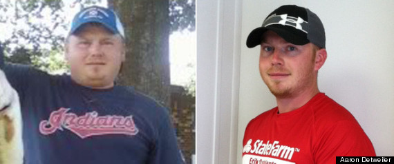WEIGHT LOSS SUCCESS AARON DETWEILER