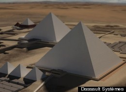 Giza 3d Pyramids Screenshot