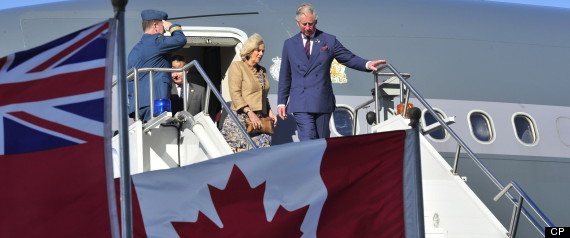 PRINCE CHARLES CAMILLA ROYAL TOUR