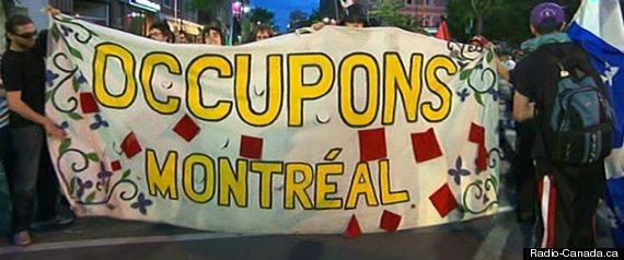 Manifestation Montreal