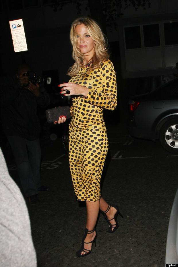 sarah harding yellow dress