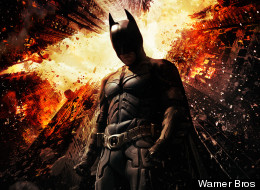 FIRST LOOK: Fiery 'The Dark Knight Rises' Poster