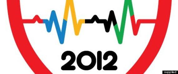 FOURSQUARE OLYMPICS BADGE