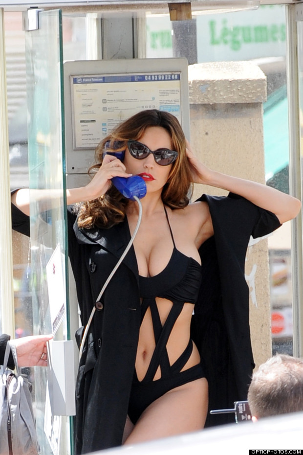 kelly brook cannes