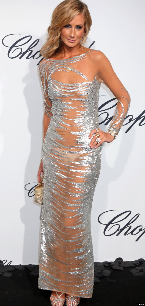 Lady Victoria Hervey Rocks Up To Cannes In See-Through Dress Alec Baldwin Podcast
