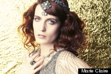 Florence Welch Gets Fiery In June Issue Of Marie Claire