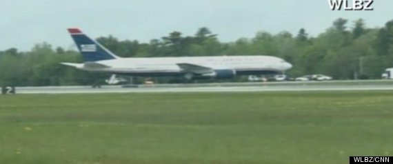 US AIRWAYS FLIGHT DIVERTED