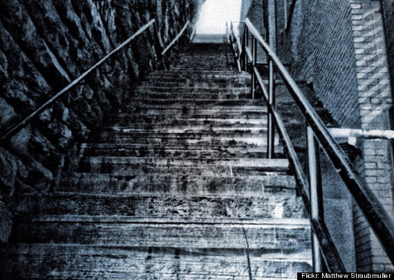 georgetown exorcist stairs