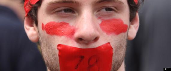 QUEBEC STUDENT PROTEST TIMELINE