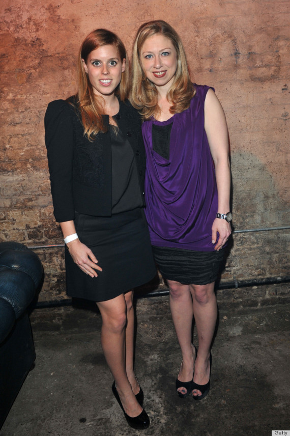 chelsea clinton princess beatrice