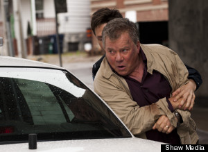 william shatner rookie blue