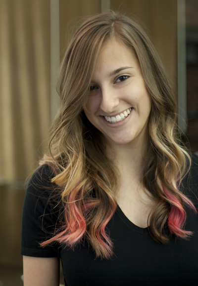 ombre hair pink