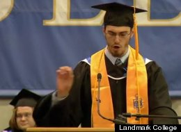 Landmark College Student Singing Commencement