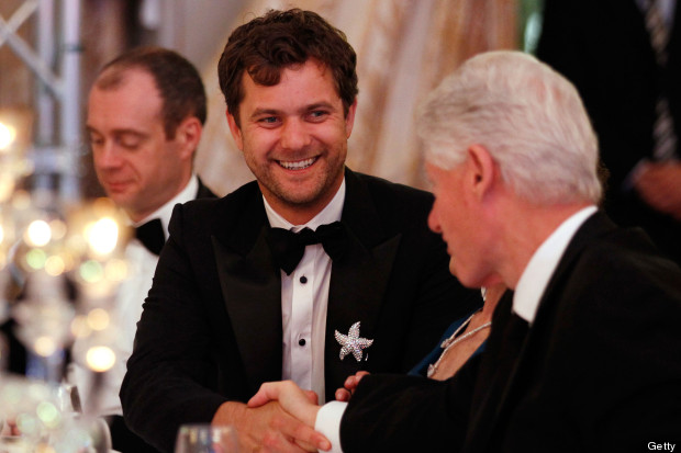 joshua jackson bill clinton