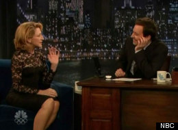 Edie Falco jimmy kimmel