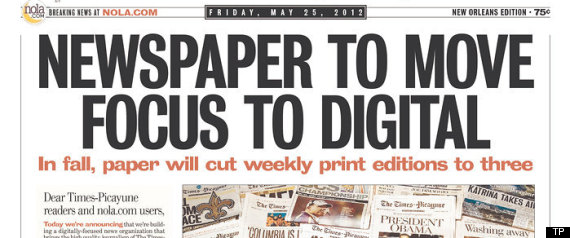 Times picayune touts progress as 60 minutes reports on cutbacks