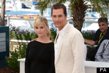 Reese WItherspoon And Matthew McConaughey Go Monochrome For Cannes Photo Call