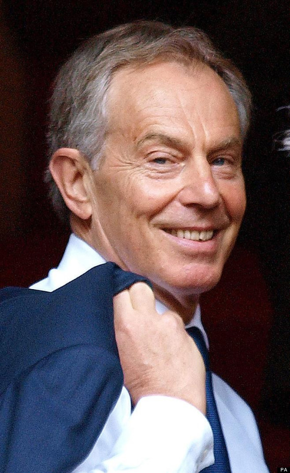tony blair leveson