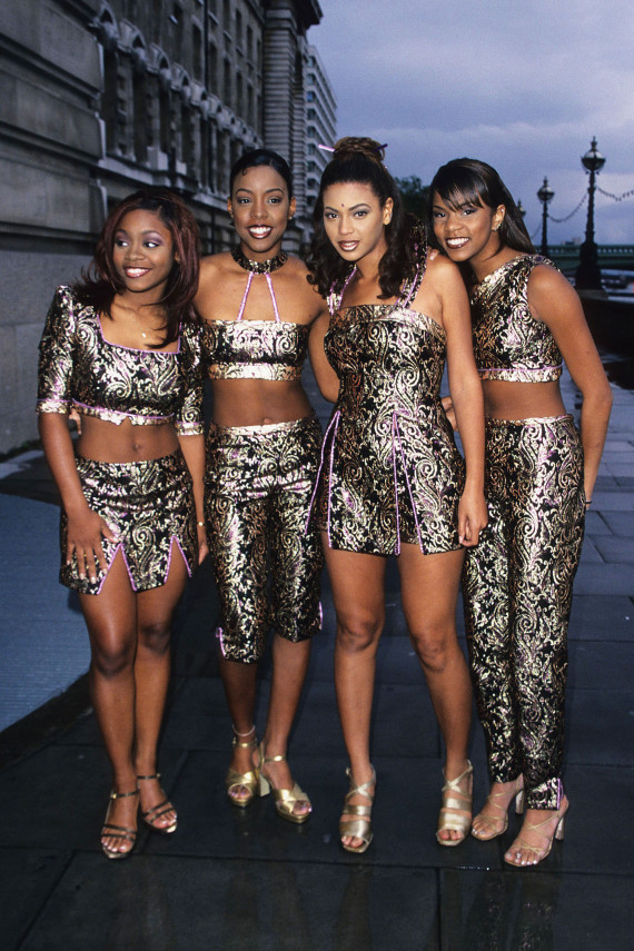 Destiny's Child Masters The '90s Girl Group Look...And How ...