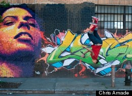 Jose The Amazing Chris Arnade Parkour Bronx