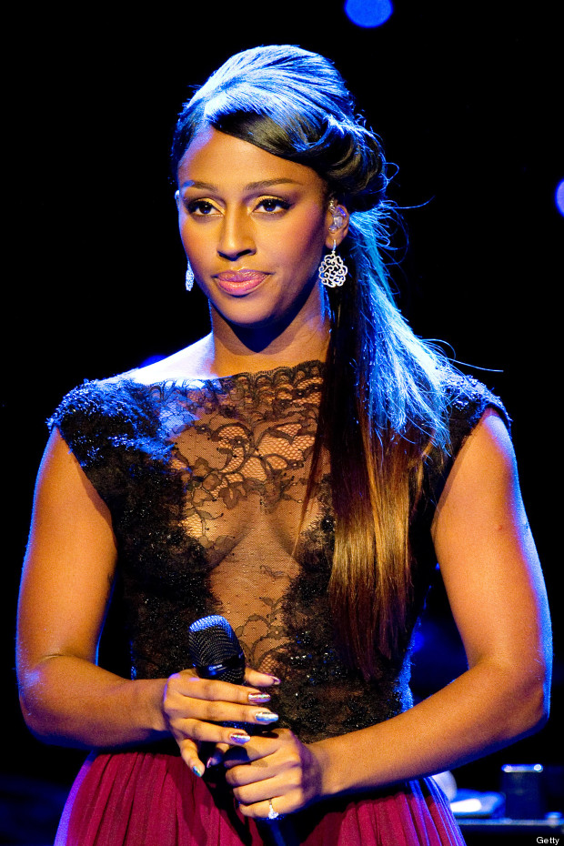 alexandra burke lace top