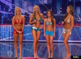 Americas Got Talent The Bikini Bombshells Cant Dance (