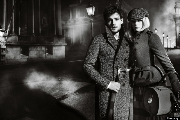 burberry autumn winter 2012 ad campaign featuring
