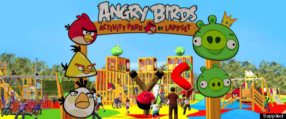 ANGRY BIRDS PLAYGROUND SUNDOWN ADVENTURELAND REV B