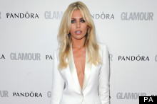 Masterpiece Or Disasterpiece: Abbey Clancy's Plunge-Neckline White Suit