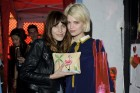 Alexa Chung And Pixie Geldof Show Off...