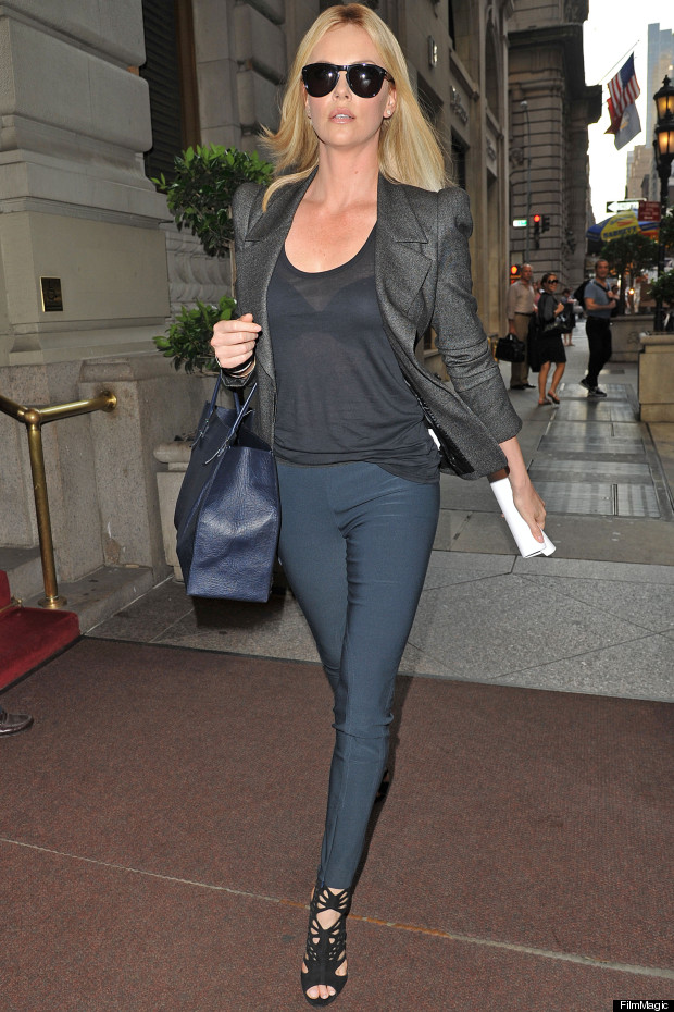 charlize theron new york