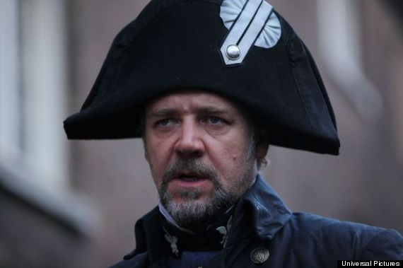 russell crowe les miserables