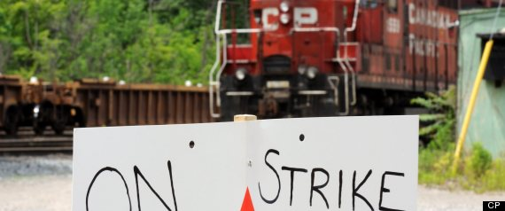 Cp Rail Back To Work Bill