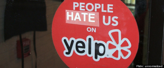 YELP EXTORTION