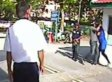 Woman Mugged While Guard Watches In Malaysia (VIDEO)