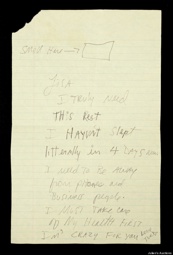 michael jackson letter lisa marie