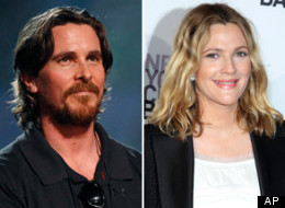 Christian Bale Dated Drew Barrymore