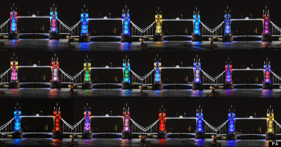 london bridge lights