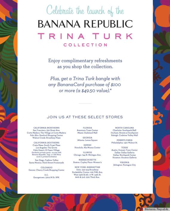 banana republic trina turk puppies