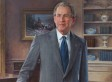President George W. Bush Official Portrait Unveiled At White House (PHOTO)