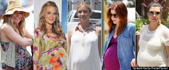 Pregnant Celebrities Summer 2012: Stars Who Are Expecting ...
