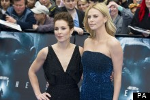 Charlize Theron Dazzles In Dior At Prometheus Premiere